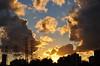 Outono Tropical... (Ruby Ferreira ®) Tags: sunset silhouettes neighborhood pôrdosol silhuetas notreatment energynetwork