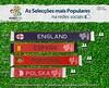 As selecções mais populares nas redes sociais (Inesting) Tags: inglaterra portugal espanha selecção polónia redessociais euro2012 inesting