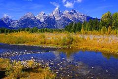 Grand Teton National Park (udbluehens) Tags: grandteton grandtetonnationalpark schwabacherslanding grandtetonfallcolors