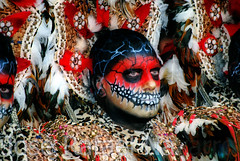 Moros de Elda (Jos Rafael Navarro) Tags: espaa spain desfile alicante entrada hdr hdri elda calavera mora maquillaje moros cristianos realistas