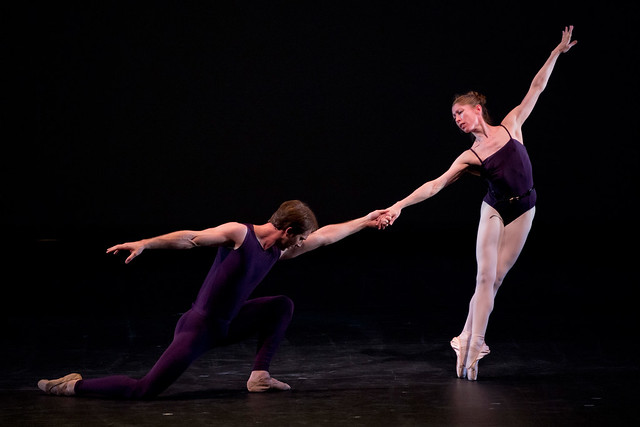 "Nehemiah Kish and Leanne Benjamin in Christopher Wheeldon's Polyphonia.  The Royal Ballet 2012.  <a href=""http://www.roh.org.uk/productions/polyphonia-by-christopher-wheeldon"" rel=""nofollow"">www.roh.org.uk/productions/polyphonia-by-christopher-whee...</a> Photo by Bill Cooper."