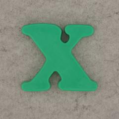 Magnetic Letter X (Leo Reynolds) Tags: canon eos iso100 x letter xxx 60mm f80 oneletter letterset 0125sec 40d hpexif grouponeletter xsquarex xleol30x
