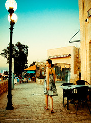 Walking alone (faworld) Tags: leica portrait israel digilux2 candid streetphotography jaffa yafo faworld