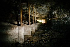 historic mule stalls (Sam Scholes) Tags: old shadow abandoned digital dark underground utah nikon mine historic mining coal mules stalls mule hiawatha d300 kingcoal kingmine usfco unitedstatesfuelcompany mulestalls