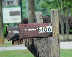 5106 (AndyM.) Tags: wood metal mailbox canon rust post decay southcarolina rusty 106 travelersrest 60d 55250mm