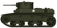 "M3 ""Stuart"" Light Tank (IcyNudibranch) Tags: world light war gun tank stuart worldwarii ii pimp m3 pmg lighttank"