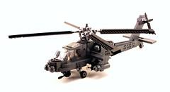 AH-64 Apache (psiaki) Tags: army apache lego military helicopter moc ah64