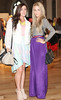 Elaine Foss & Olya Khimchenko pictured at the ebay.ie fashion show at Smock Alley Theatre, part of the ebay.ie online fashion week. Photo: Anthony Woods.