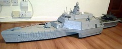 HMS Neptune C-01 (Babalas Shipyards) Tags: ship lego military navy stealth