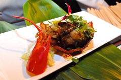 Chef Quek Wok Fried Pepper Lobster, Singapore Style