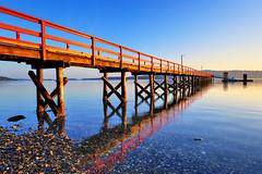 Live in the Breath (Northern Straits Photo) Tags: canada reflection sunrise pier boat bc britishcolumbia gulfislands saltspringisland fernwooddock mygearandme mygearandmepremium northernstraitsphotography