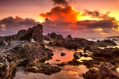 Hookipa Suprise (mojo2u) Tags: ocean sunrise hawaii maui hookipa nikon2470mm nikond700