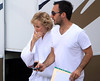 Actress Naomi Watts as Princess Diana shooting 'Caught in Flight' a film about the life of the tragic royal Croatia