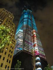One World Trade Center (Vinny S.) Tags: street new york nyc ny building work construction crane cranes nycconstruction