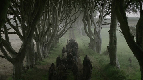 Game Of Thrones Dark Hedges Of Armoy - Game Of Thrones Series 2 Episode 1 Filmed On Location In