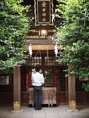 愛宕神社 (がじゅ) Tags: 散歩 寺社 愛宕 epl2