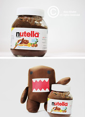 Nutella + Domo  (Alaa Khalid |  ) Tags: food akh sweet chocolate domo nutella khalid alaa