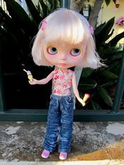 Blythe a Day July: 17 - Ice cream