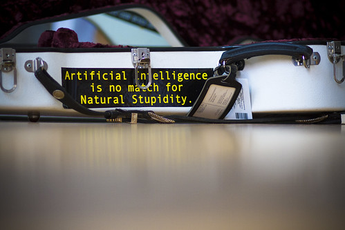 Artificial Intelligence is no match for by Sean Davis, on Flickr