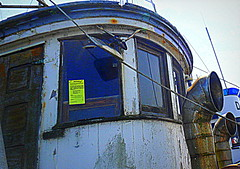 Old Marie- in trouble (912greens) Tags: abandoned boats westport abandonedboats