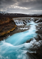 [ ... primordial ] (D-P Photography) Tags: mountain water river island waterfall iceland spring wasser wasserfall berge lee nd fluss frhling trkis suurland torquise ndgrad brarfoss leefilters canoneos5dmarkii bigstopper lee09ndgrad