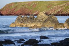 Wales, Pembrokeshire (richard.mcmanus.) Tags: ocean sea beach wales coast rocks explore pembrokeshire stacks mcmanus marloes