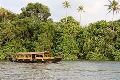(Kaveri Jain Photography) Tags: ocean trees sea india boats hotel fishing fishermen coconut chinese kerala lagoon palm nets leela cochin backwaters brunton boatyard kovalam kumarakam