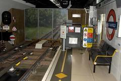 West Ashfield Platform End (RyanTaylor1986) Tags: station training track tube fake mockup londonunderground facility mock pretend westkensington nopassengers ashfieldhouse westashfield platformend