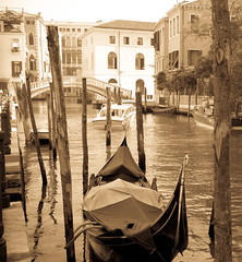 Venice canal (trefisius) Tags: venice italy architecture boats europe places canals gondolas