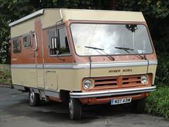 1981 Bedford CF Hymer Mobil (GoldScotland71) Tags: bedford conversion mobil 1981 1970s 1980s camper cf hymer caravanette mdt431w