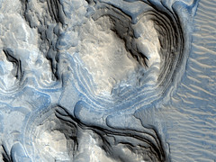 Possible Cyclic Bedding (NASA, Mars, 2009) (NASA's Marshall Space Flight Center) Tags: mars rover nasa exploration mro msl marslanding marssciencelaboratory curiosityrover marshighresolutionimagingscienceexperiment iarabiaterra