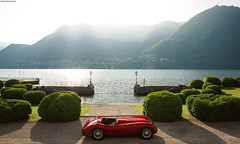 C-Type (Francesco Carlo | Automotive Photographer) Tags: fcarphoto canon eos 5dmkiii 5d jaguar ctype lovecars lake ocmo cernobbio villa deste