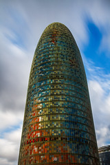 Torre Agbar (Carra.Dfgdef) Tags: canon 7d eos canoneos7d canon7d tokina 1224 f4 atx pro dx tokinaatxprodx1224mmf4 spain catalunya barcelona glories agbar torre tower torreagbar colori color colores clouds long exposure longexposure nd1000 nd30 neutraldensity filtro filter