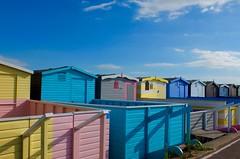 (rugs49) Tags: colours beachhuts frintononsea