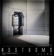 NOSTROMO-MOTHER-CHAMBER-2 (sith_fire30) Tags: alien nostromo mother muthur6000 sulaco prometheus covenant dallas ash ripley chamber corridor bridge weyland yutani scratch building model making custom action figures toys diorama art sithfire30 dayton allen