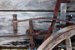 Brake (skipmoore) Tags: sonomacounty rustic wagon brake