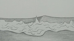 20130327 WoutvanMullem Waves on the beach 10 (Wout van Mullem) Tags: wave waves beach sea animation still pencil wout van mullem