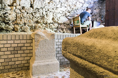 Mithrum Fertrkos, 3. Jahrhundert (Anita Pravits) Tags: fertrkos hungary kroisbach kultsttte magyarorszg mithra mithraism mithraismus mithras mithrasgrotte mithraskult mithraszszently mithrum mitra mythraicmysteries mrbisch romanempire rmischesreich sanctuaryofmithras tempel ungarn mithraeum shrine