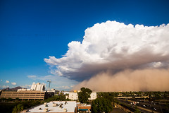 Haboob over Phoenix (Mike Olbinski Photography) Tags: 20160821 canon5dmarkiii arizona canon1635mm28l downtownphoenix duststorm haboob monsoon phoenix rain thunderstorm