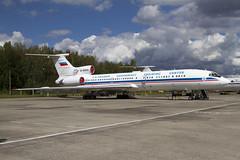 TU-154 RA-85655 CLOFTING IMG_2553 (Chris Lofting) Tags: tu154 russianairforce uumu chkalovsky ra85655 gagarin cosmonaut