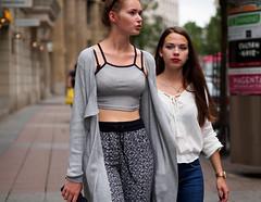 (graveur8x) Tags: teens goingout girls young candid street portrait streetphotography germany deutschland frankfurt evening eyecontact cool hessen dof lights olympus olympusm45mmf18 olympusem10markii 45mm microfourthirds m43