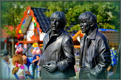 Beatles Sculpture (Liverpool Waterfront) 17th August 2016 (Cassini2008) Tags: cityofliverpool liverpool thebeatles