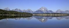 Grand Tetons Jackson Lake (al_g) Tags: tetons mountains panorama lake jacksonlake water