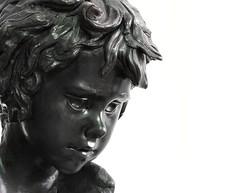 Ritratto di Giovane  2016 (Il Burattino: Kreshnik. Maniera. Nero) Tags: scultura sculpture art arte portrait figura firenze florence ilburattino maniera nero kreshnik