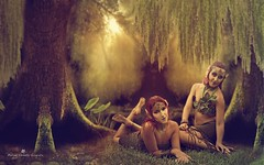 Forest Heart (MCarballo) Tags: 2016 alicante elpameral mariafndez oliviabeekman parque tfcdalicante modelos verano