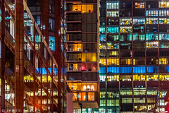 Night Lights (James Neeley) Tags: nightphotography citylights london barbican jamesneeley