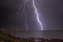 Ambiance maritime (Prsage des Vents) Tags: royan foudre clair orage alex