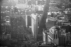 Flatiron (kellyhackney1) Tags: flatironbuilding flatiron piccy newyork newyorkcity newyorkbaby manhattan bigapple america citybreak 5thavenue architecture blackandwhite