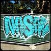 NASAL (Chris Blakeley) Tags: seattle hipstamatic tag graffiti nasal streetart