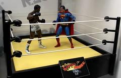 2016-Superman vs Muhammad Ali Action Figures at SDCC-01 (David Cummings62) Tags: sandiego ca calif california comiccon con actionfigure muhammadali superman dccomics comics